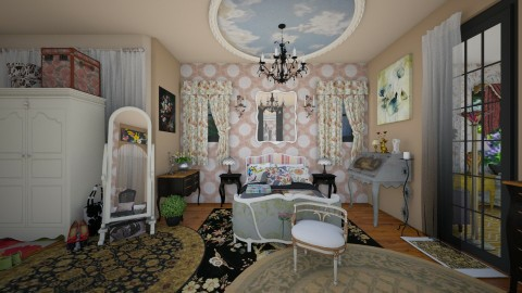 a little french bedroom - Vintage - Bathroom - by Teri Dawn