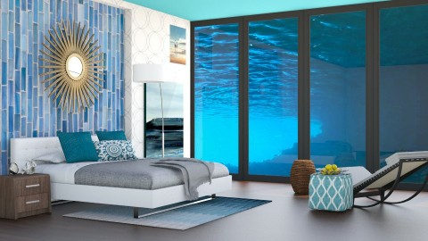 Underwater Hotel - Modern - Bedroom - by bgref