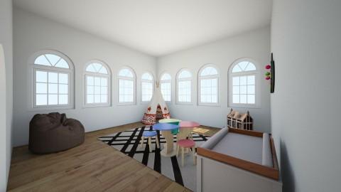 salle de jeux Maison Lumi - Classic - Kids room - by Carole Fontaine