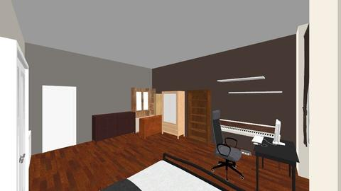Bar room - Rustic - Bedroom - by danielthramm