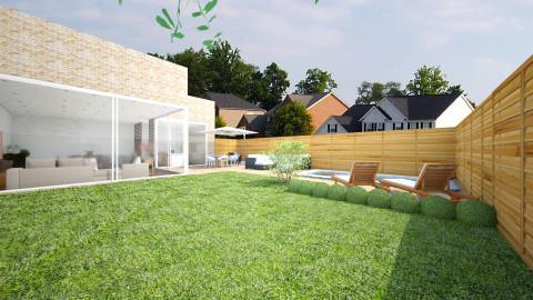 Big Garden - Modern - Garden - by Saar Duyvejonck