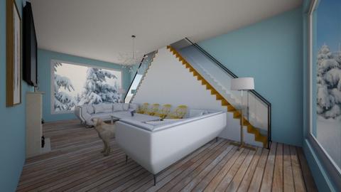 Yellow - Living room - by Brooklyn_Baddie