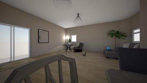 Plant Based Interiors - Living room - by ellarowe224