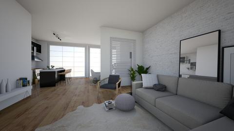 boho living space - Living room - by oggienarna