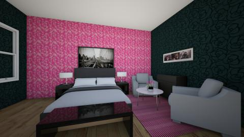Design 1 - Glamour - Bedroom - by Nidia Obregon