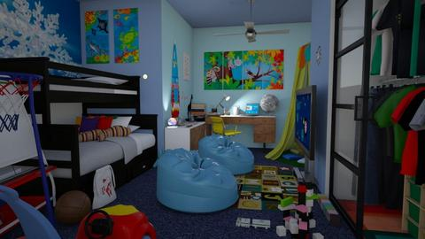 boys room - Kids room - by snjeskasmjeska