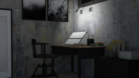 The Artist - Office - by meggle