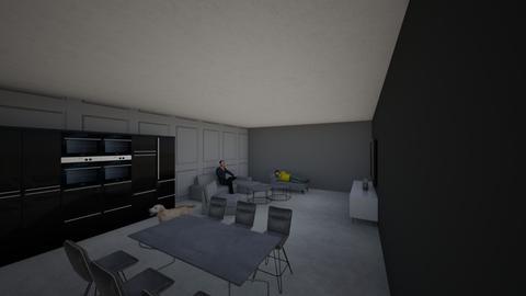 zwart wit grijs - Modern - Office - by gangstawars