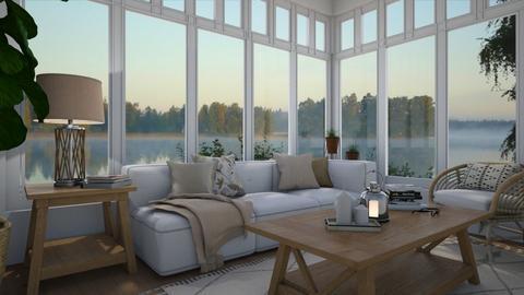 Serene - Living room - by Tuija