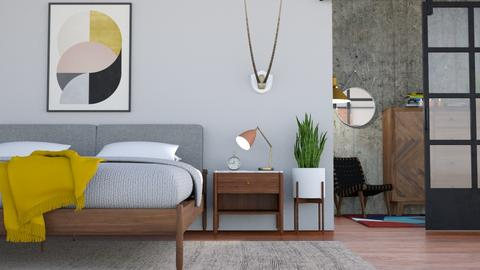 midcentury bedroom  - Bedroom - by boho_dreamer