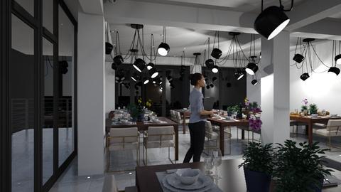 Restoran - by Nikola Simic