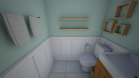 Half Bath - Country - Bathroom - by twrose160