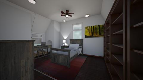 my dream home loft bedroo - Modern - Bedroom - by jade1111