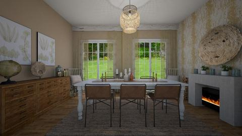 Magnolia desing - Dining room - by martinabb