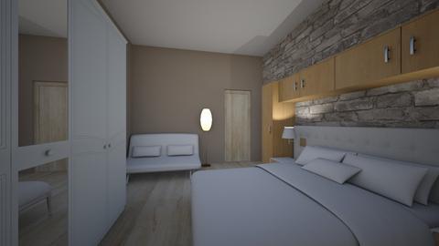 pokoj - Modern - Bedroom - by Hanulka 1