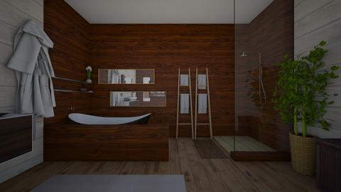 mcm bathrm - Bathroom - by Kylie Awa