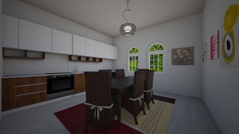 Mid Century Modern - Kitchen - by CatsRule12