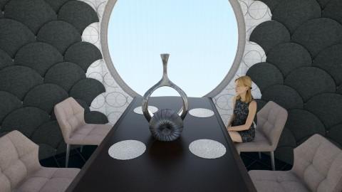 Submarinia - Dining room - by archibasil