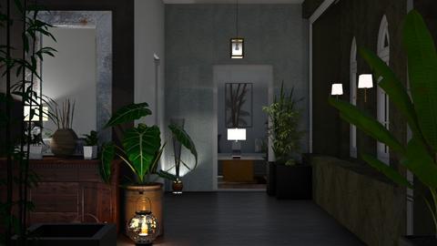 Urban Jungle Hallway - by Sue Bonstra