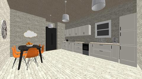 Kitchen and Dining room - Classic - Kitchen - by nadja976
