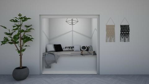 Hallway nook - by Maddie_Grace_