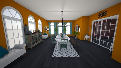 thanksgiving room - Dining room - by evieJ