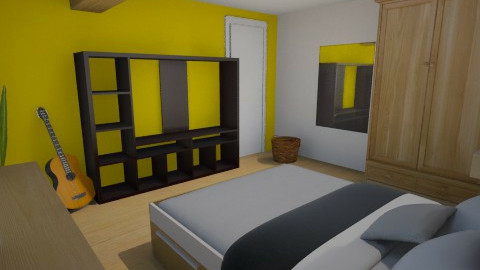 Bart 2 - Bedroom - by Sunshinedriver