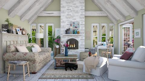 Country Granny Style - Living room - by Lizzy0715