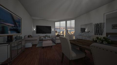 Miami - Living room - by nataly21