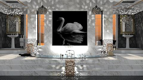 Bath of the Swan - Modern - Bathroom - by Lifandus