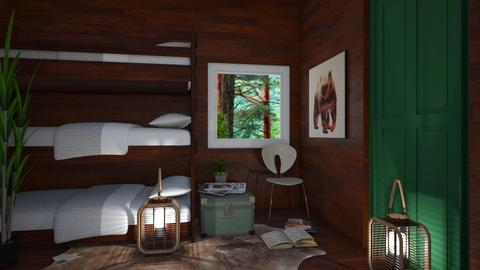 Lil Cabin 2 - Rustic - Bedroom - by millerfam