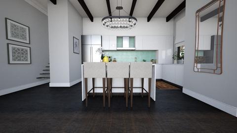 posh_kitchen - Kitchen - by mire roig