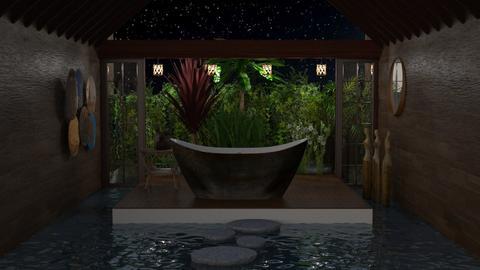 urban jungle bathroom - Bathroom - by Marina Struwig