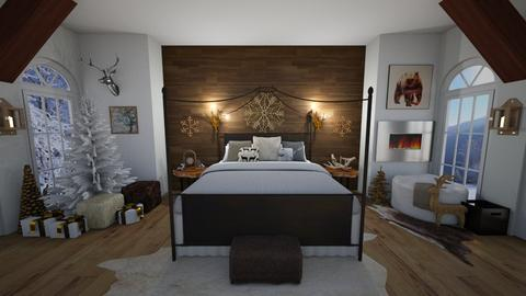 Warm Winter - Bedroom - by hlk