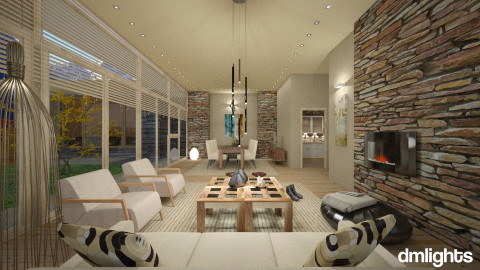 rr - Modern - Living room - by DMLights-user-982763