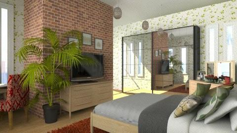 redgreenbrwn - Eclectic - Bedroom - by cheyjordan