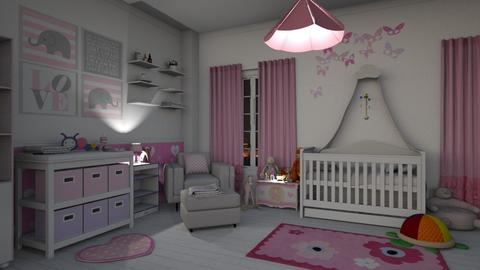 Baby Girl Room  - Kids room - by bigmama14