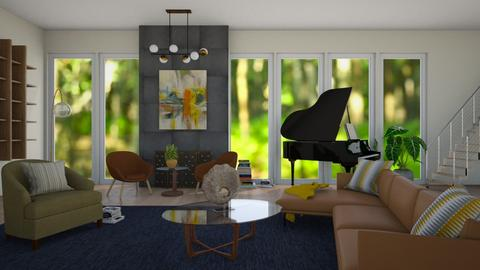 Mid Century Grand  - by SofiaL