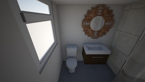 Basement bathroom - Bathroom - by weatherstonc