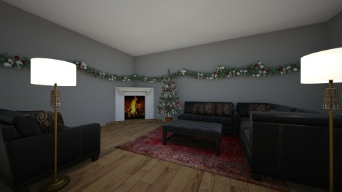 living room - by Jessica Baines