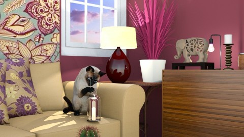 Closer - Classic - Living room - by anniecleetus