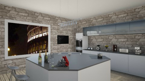 Romantic Kitchen  - Glamour - Kitchen - by Federica_G1993