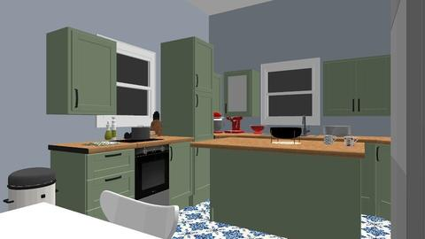 Green bold  - Kitchen - by katelynmorgan03