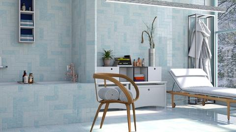 Blue Harmony - Bathroom - by ZuzanaDesign