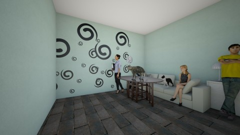 the meeting room - Living room - by Kaylee Mahr