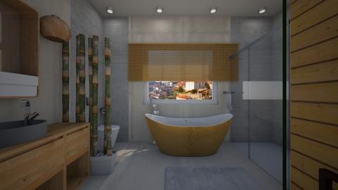 lazienka  - Bathroom - by DariaCZ