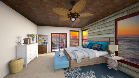 beach 2 - Retro - Bedroom - by The vamps lover