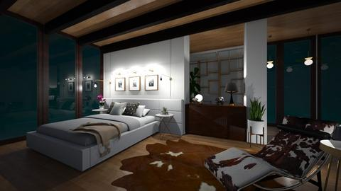 midcentury bedroom - Bedroom - by willhenning