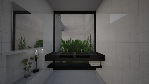 Patio Bathroom - Modern - Bathroom - by StienAerts