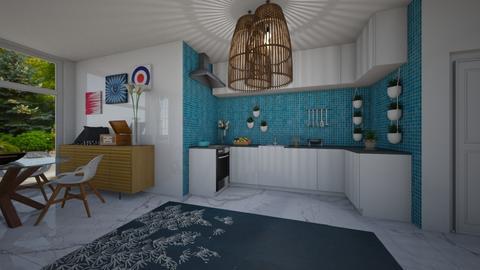roomyish kitchen only - by punbrowansis